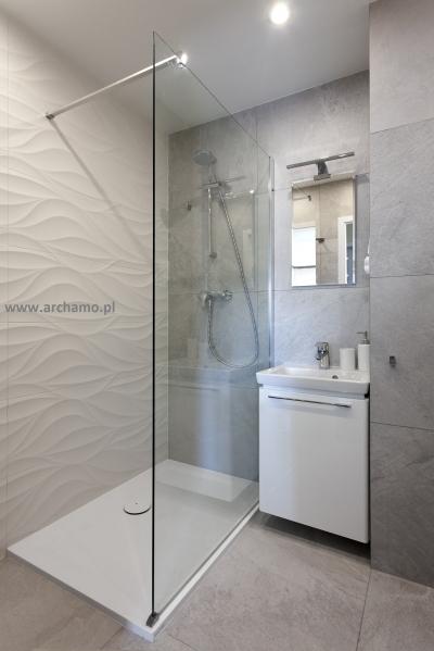 Projekt Aranżacja I Remont łazienki W Bloku W Gdyni